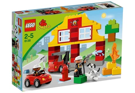 LEGO Duplo My First Fire station 2014 - Imagen grande